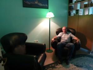 Вид комнаты для релаксации